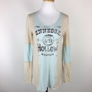 We the Free Tennessee Hollow Knit Top